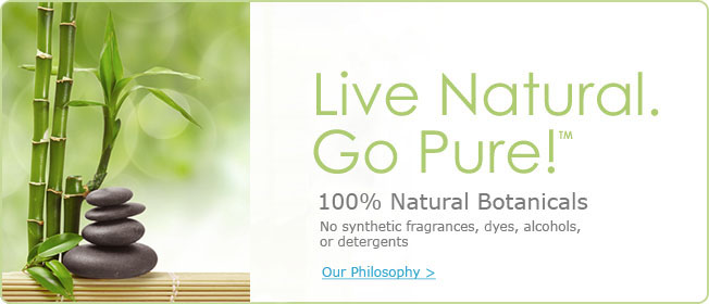 Live Natural. Go Pure!