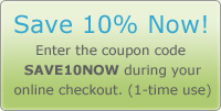 Save 10% Now!
